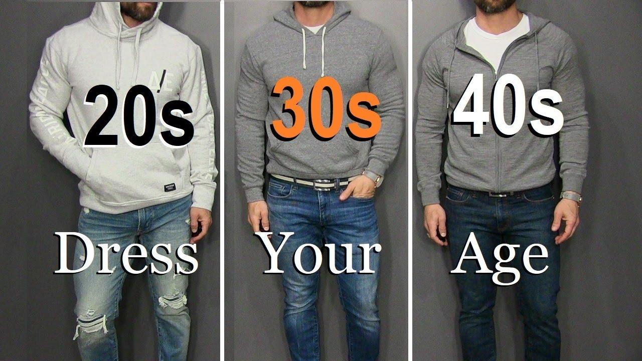 πως να ντύνεσαι ανάλογα με την ηλικία σου